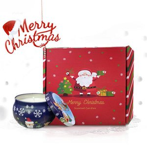 Christmas decoration party to engage in activities mixing Aromatherapy candles Colorful Xmas Gift