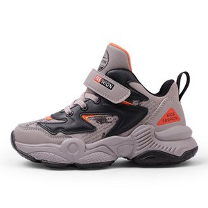 Autumn 2019 New Brand Boys Sneakers Kids Girls Boots School Shoes For Kids trainers winter children sport shoes Y1117