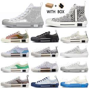 2021 B23 Designer Sneakers Obliqui Pelle Tecnica Pelle Alta Platform Flowers Platform Shoes Outdoor Scarpe Casual Vintage taglia 36-45 # 84b
