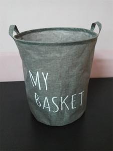 Ткань арт-лист ведро грязные одежды хранения бочка бытовой белья типа ткань корзина баррель в форме горячей продажи 8 5л N2