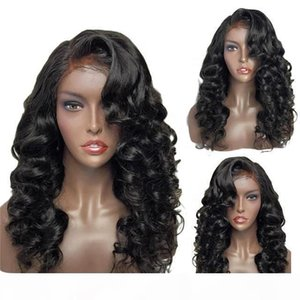 Peruvian Full Lace Front Wigs Natural Wave Human Hair Wig