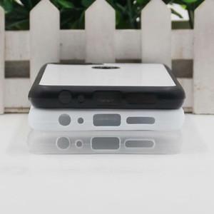 OPPO 2D Sublimation F9 / A71 / A39 Silicon Case TPU + PC para borracha macia em branco de transferência de calor