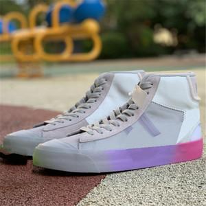 Blazer Skateboard Trainers All Sallows Eve Studio Ow Zapatos de moda deportivos al aire libre US5.5-11 Serena Williams Mujeres Hombres Zapatos