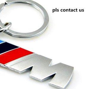 M Metal Car Logo key ring keyring keychain key chain KeyHolder Car Styling for BMW M Power M3 M5 Series AMG Auto Accessories