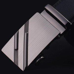 [CKMN] Cinturón de pantalón para hombres Cinturón de cuero negro para hombres Diseñador de lujo Correa de cuero genuino de moda Hebilla de aleación Masculino