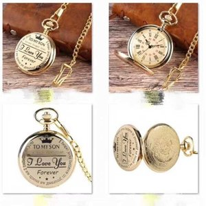 Customized Pocket Watch for Men and Women
