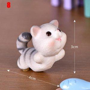 Miniature Cat Figurine Model Fairy Micro Landscape Garden Decoration Kids Toy DIY Gardening Ornaments YE-Hot