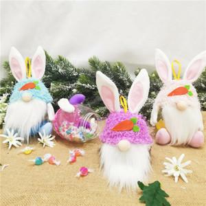 Huevo de Pascua regalo de caramelo sin raza Conejo sin raza Titular de almacenamiento de dulces 2021 Creative Pascua Conejito Egg Niños Candy Jar Regalo