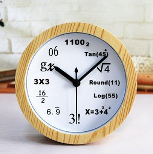 Mathematical formula alarm automobile despertador digital watch electronic desk home decor klok masa saatial fajr clock plastic