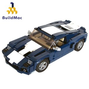 MOC-37665 10265 Modified Sports Car Building Blocks DIY Toy Assembly Model Moc Sports Car Boy Birthday Gift J1204
