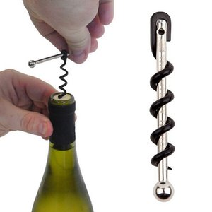 New Stainless steel Multifunctional Mini Outdoor Red Wine Bottle Opener with Keychain free shipping
