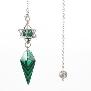Wholesale 10 pcs Silver Plated Pyramid and Star Point Pendant Link Chain Many Colors Quartz Stone Jewelry