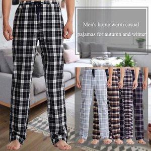 2021 Moda Rapwriter Rahat Ekose Yüksek Bel Pantolon Erkekler Gevşek Düz Pantolon Damalı Harajuku Baggy Sweatpants Pantalon