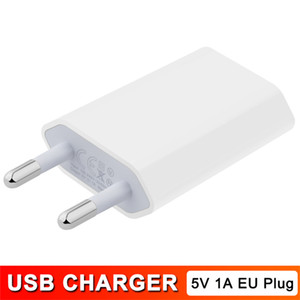 5W USB Power USB Adapter AC Travel Home Wall Charger for EU Plug 5V 1A Output USB Plug for iPhone 4 4s 5 5s 5c Samsung Galaxy