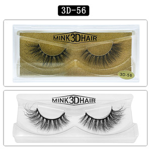 6d mink eyelashes False Eyelashes eyelash packaging box Soft Natural Thick Fake Eyelashes Lashes Extension Beauty Tools 25 styles Free shipp