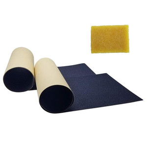 Non-Slip Skateboard Deck Sandpaper Grip Tape with Skateboard Eraser for Skating Board Longboarding Accessory