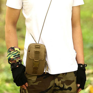 New Style Men Waist Pack Small Outdoor Tactical Bag Equipment Hiking Crossbody Bag Messenger Camping Tactics Sling