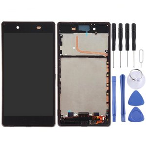 LCD Screen and Digitizer Full Assembly with Frame for Sony Xperia Z4