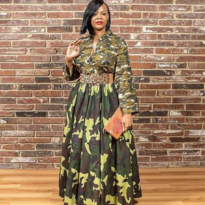 S-5XL Long African Dresses For Women Africa Clothing African Design Bazin Pleated Glitter Dashiki Maxi Dress Africa Clothing