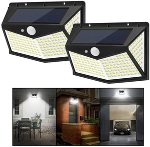 212 LEDs Solar Lights Outdoor Waterproof Solar Wall Light Motion Sensor with 3 Modes Patio Lights Garden Lights Yard Security Lamp