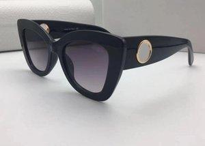 Nueva moda mujer leopardo grano gafas de sol gafas de ojos gafas de sol gafas de sol vidrio negro para la pasarela Muestra al aire libre a prueba de viento