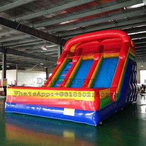 Outdoor Land Slide PVC Inflatable Kids Jumping Bouncy Slide with Free Air Blower