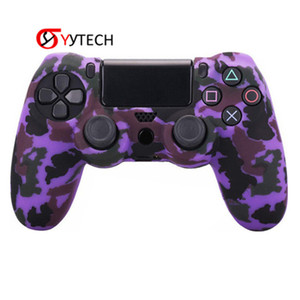 SYYTECH Soft Rubber Accessories Controller Protector Silicone Grip Cover Case Skin for PlayStation 4 PS4 Slim Pro