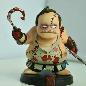 12cm Terror Butcher Anime game Peripheral toys Pudge Garage Kits Packed Garage Kits model anime figure collect action toys