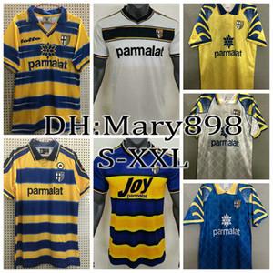 95 97 98 99 20 Parma Crespo Retro Soccer Jersey Inglese Gervinho Karamoh Shirt de football Amoroso 02 03 Ancien Maillot