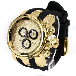 Mens Watches Top Brand Rubber Big Watch Men Sports Relogios Waterproof erkek saat Quartz Wristwatch Mens