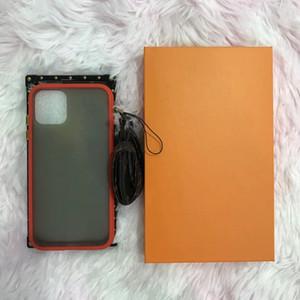 Original V V V V PU PU PU PHONECASE Fleur brun classique avec boîte pour iPhone7 / 8 7p / 8p x xR xsmax 11 12Prodrax 12mini Samsung Modèles