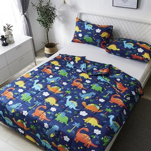2020 New Bedding Printed Summer Quilt Blankets Cartoon Quilting Bed Comforter Cover Kids Suitable Home Adults For Textiles