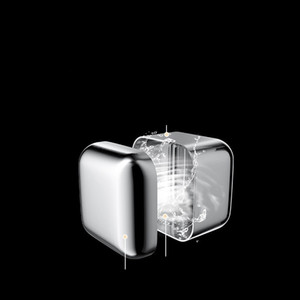 Polishing Ice Blocks Stainless Steel Icecube Square Reusable Hollow Metal Ice Stone Fruit Juice Beers Wines Cooler Iced 2 5myb C2