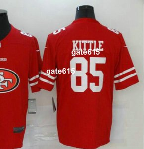 Men San Francisco 7 85 97 jersey male Shirt Embroidered 100% and 2020 Big team logo Limited American Football jerseys a0