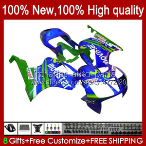 Bodys für Honda SP1 SP2 VTR1000 Movistar Blue 2000 2001 2002 04 05 06 98HC.98 VTR 1000 VTR-1000 RC51 00 01 02 03 2003 2004 2005 2006 Verkleidung