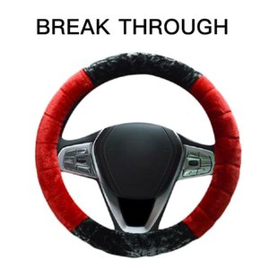 """Steering Wheel Covers Car Interior Accessories Universal 15"""" Cover Fleece Warm Keeping Fluffy"""