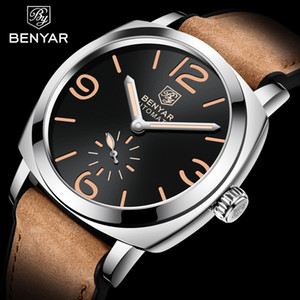 New BENYAR Top Brand Luxury Men's Automatic Mechanical Watches Mens Watches waterproof Men WristWatch Military Reloj Hombre 201120