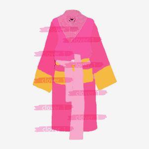 Diseñador de la marca bathrobes de baño ropa de dormir seis colores unisex algodón ropa de dormir noche bata de alta calidad de baño Classial de lujo de lujo Robe caliente Klw1739
