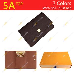 Hombres y mujeres Diseñador 6 Tenedor clave M62630 FloralchessBoard Case de alta calidad / caja de regalo Punto de embalaje Envío gratis