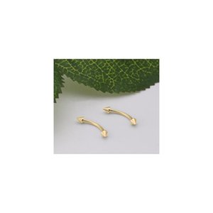 Modrsa 2pcs Lot Stainless Steel Body Jewelry Cone Eyebrow Ring Helix Tragus Piercing Ear Eyebrow Nose Lip Piercing Ring F bbyVGX