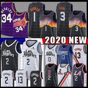 Devin Kawhi 1 Booker Leonard Basketbol Jersey Chris Steve Paul Nash George Barkley PhoenixGüneşlerLosMeleklerLaKesme makineleri