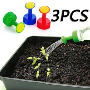 Factory Direct Sales Gardening Plant Watering Attachment Spray-head Soft Drink Bottle Water Can Top Waterers Seedling Irrigation Equipment