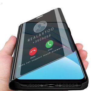 Smart Sleep Mirror Phone Cover Case For Xiaomi Xiomi Xiami Mi10t Mi 10t T10 10 T Pro Lite Light 6.67'' jlloVo