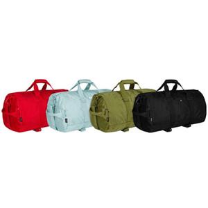 Hombres Classic Duffle Bags 3m Bordado Bolsas de viaje Unisex Yoga Tote Bolso Mujer Separación seca y mojada Deportes Aptitud Bolsa de almacenamiento