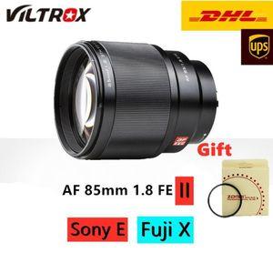 Viltrox 85mm f1.8II STM Auto Focus Full-Frame Portrait Prime Lens For Fuji X-Mount Camera X-T3 X-H1 X20 X-T30 X-T20 X-T100 XPro21