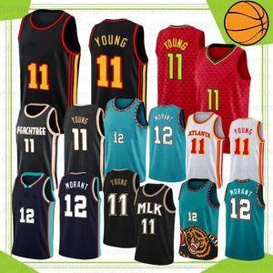 Ja 12 Morant College Zion Trae 1 Williamson 11 Young 23 23 майки для баскетбола запас S-XXL 2021 новый
