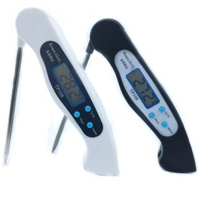 Electronic Food digital Thermometer BBQ grill Thermometer Waterproof Baking Household Kitchen Tool Measure Milk Frying Temperature tools