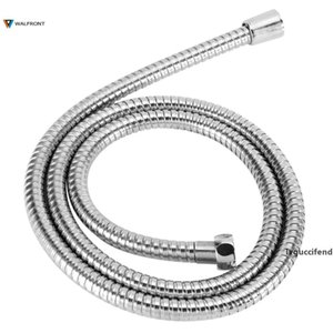 1.5m Stainless Steel Shower Hose Flexible Bathroom Water Pipe Silver Color Common Pumbing Hoses Bathroom Accessories Wholesale