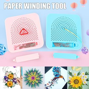 Paper Quilling Board with Pins Grid Guide for Paper Crafting Winder Roll Square DIY Craft Tool FAS61