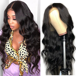 Body Wave Lace Front Wig Natural Hairline Body Wave Human Hair Wigs Brazilian Pre-plucked Lace Front Human Hair Wigs